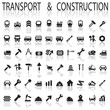 construction and transport icons