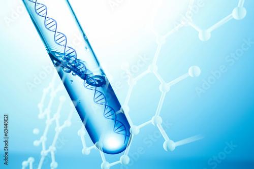 Fotografia  DNA実験イメージ