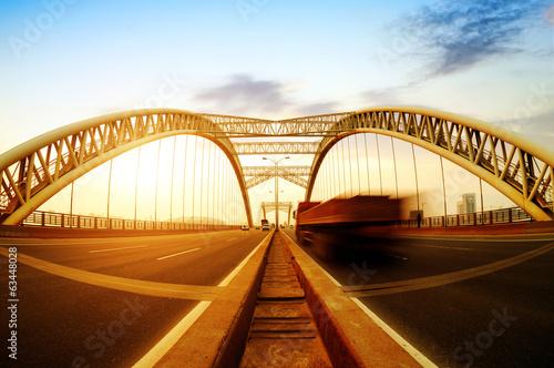 Spoed Foto op Canvas Canada bridge