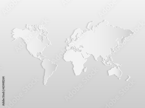 World Map Wall Murals | Murale Design