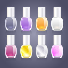 Set Of Assorted Nail Polish Bo...