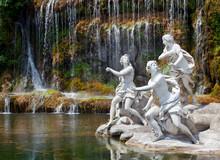 Fountain Of Diana And Actaeon, Royal Palace, Caserta, Italy