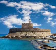 Fort Saint Nicolas Rhodes, Gre...