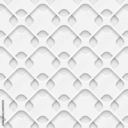 Naklejka dekoracyjna Seamless Lattice Pattern