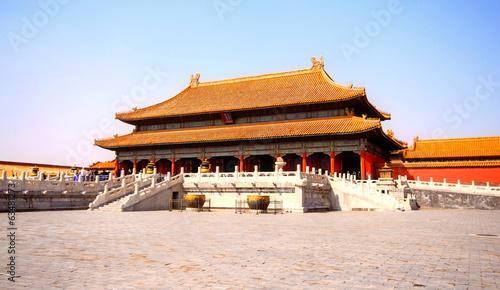 Spoed Foto op Canvas Beijing Forbidden City, Beijing, China