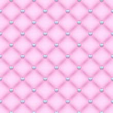 Seamless Pink Quilted Backgrou...