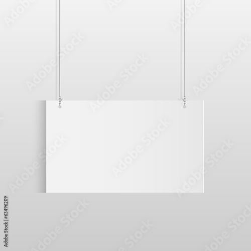Fotomural Hanging Sign