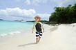 Child Summer Beach and Ocean Fun