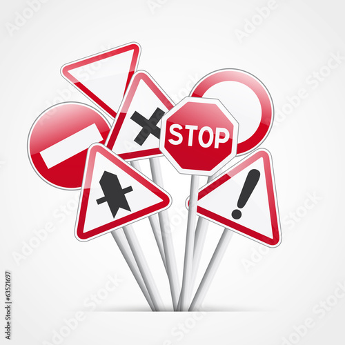 Fotografía  code de la route, signalisation
