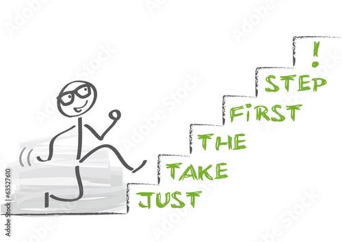 Fotografía  First Step