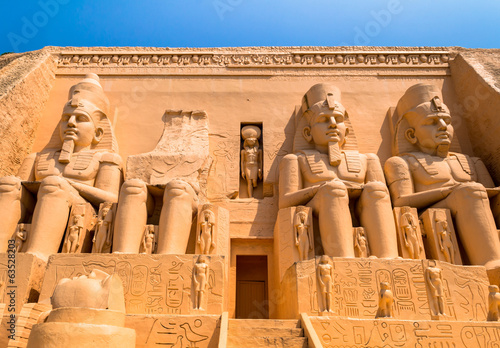 abu simbel egypt Wallpaper Mural