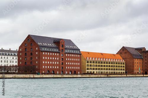 Photo  Waterfront of channel, Copenhagen
