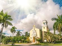 Congregational Church Of Coral Gables In Miami - Florida USA