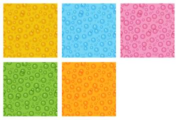 the bubble background set