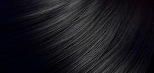 Black Hair Blowing Closeup