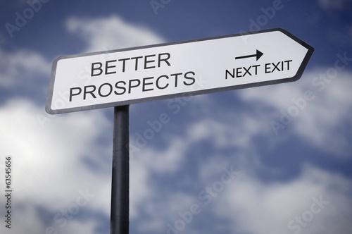 Fotografie, Obraz  Better prospects