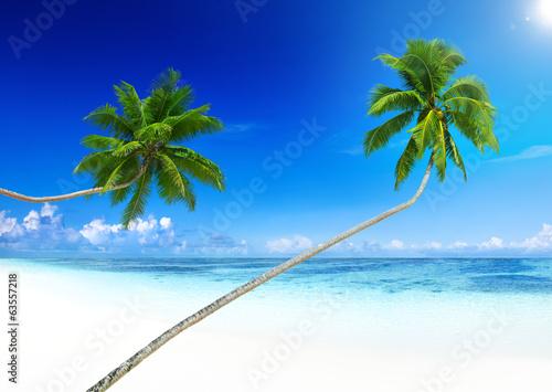 Deurstickers Strand Tropical Paradise Beach