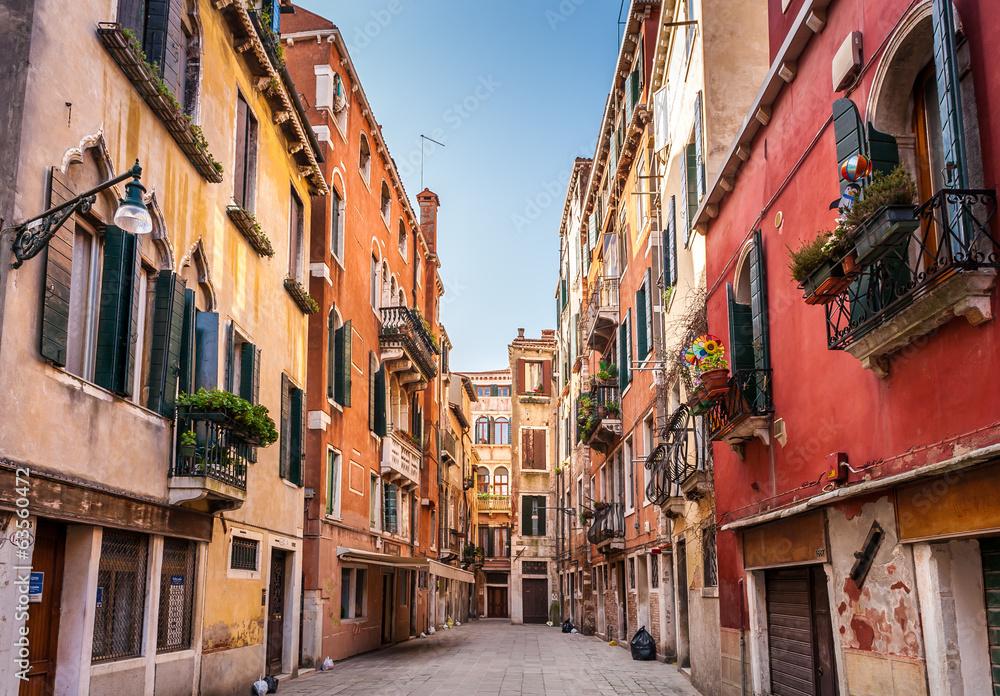 Fototapeta Rue à Venise
