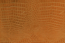 Orange Leather Background And Texture