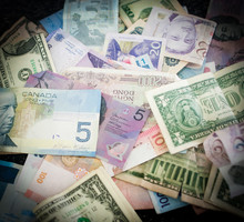 Different Country Moneys
