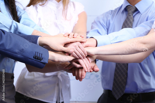 Fototapety, obrazy: Business people working in conference room