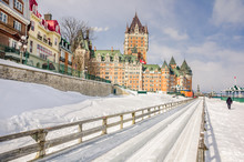 Chateau Frontenac In Winter, Q...