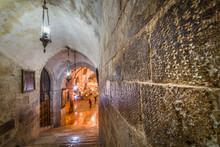 Church Of The Holy Sepulchre - Crusader Graffiti