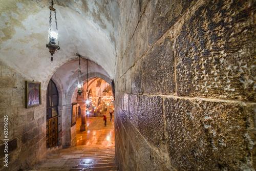 Church of the Holy Sepulchre - Crusader graffiti Wallpaper Mural