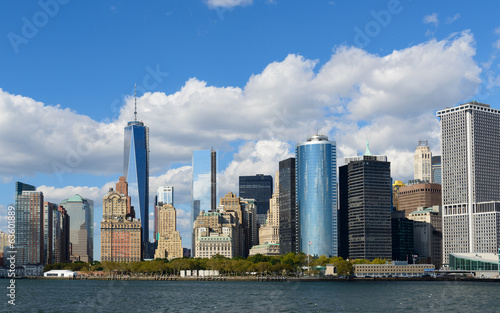 Fototapeta premium Dzielnica finansowa Nowego Jorku