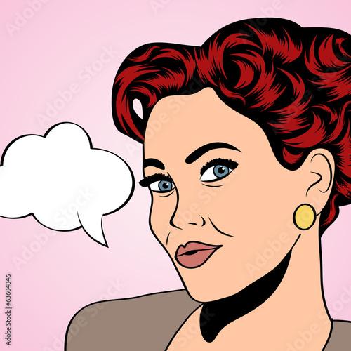 pop-artu-retro-kobieta-w-stylu-komiksow