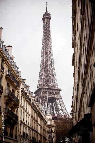 Poster Artistique Eiffel tower, Paris