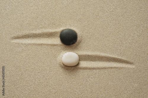 Keuken foto achterwand Zen Zen Begegnung