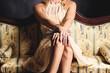 canvas print picture - feminine elegance