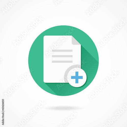 Photo Vector Copy Document Icon