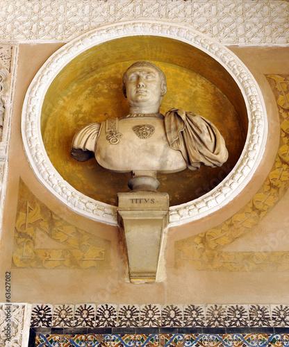 Fotografía Titus, roman emperor