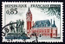Postage Stamp France 1961 City...