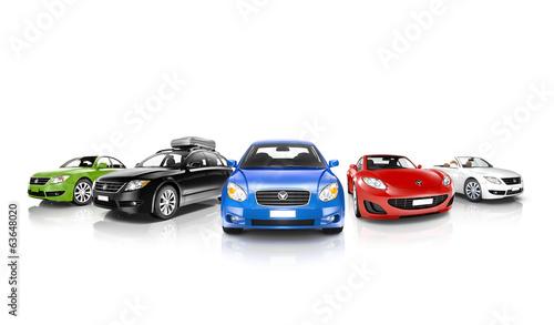 kolekcja-samochodow-3d