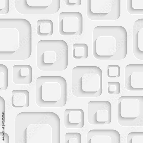 Fototapeta na wymiar Trójwymiarowy kwadratowy deseń
