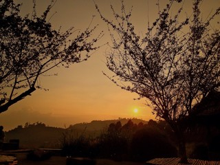 Sunset at Mon Cham - Chiangmai