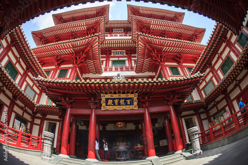 Photo  Buddha Tooth Relic Temple, Singapore