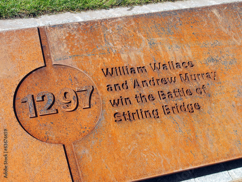 Obraz na plátne 1297, Battle of Stirling Bridge