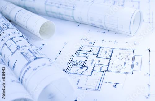 Architektur Skizzen Rollen