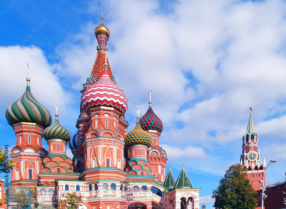 Fototapety, obrazy: Red Square, Moscow, Russia