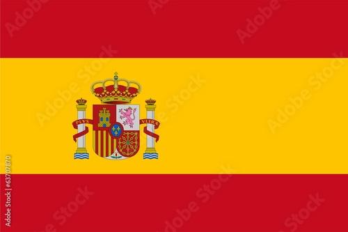 Fototapeta Bandera de españa obraz