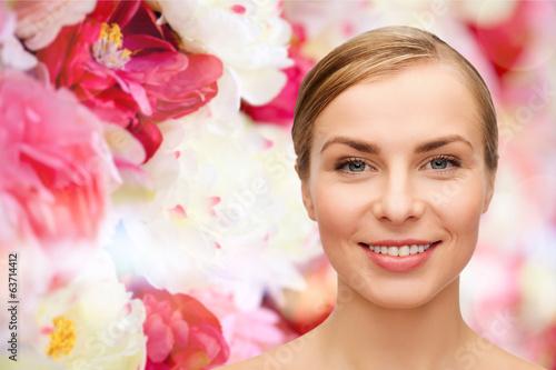 Fotobehang womenART face of beautiful woman