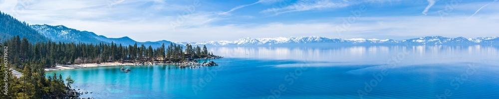 Fototapety, obrazy: Lake Tahoe panorama