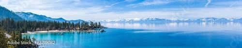 Fotografie, Obraz  Lake Tahoe panorama