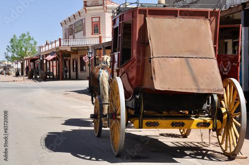 Fototapeta Stagecoach in Tombstone, Arizona