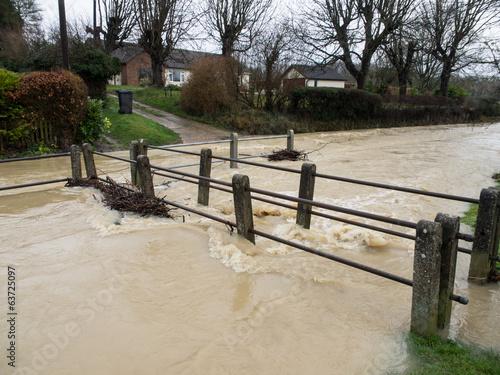 Keuken foto achterwand Floods - Clavering Cambridshire England UK