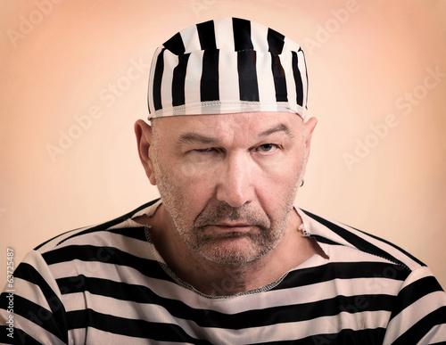 man prisoner Fototapet